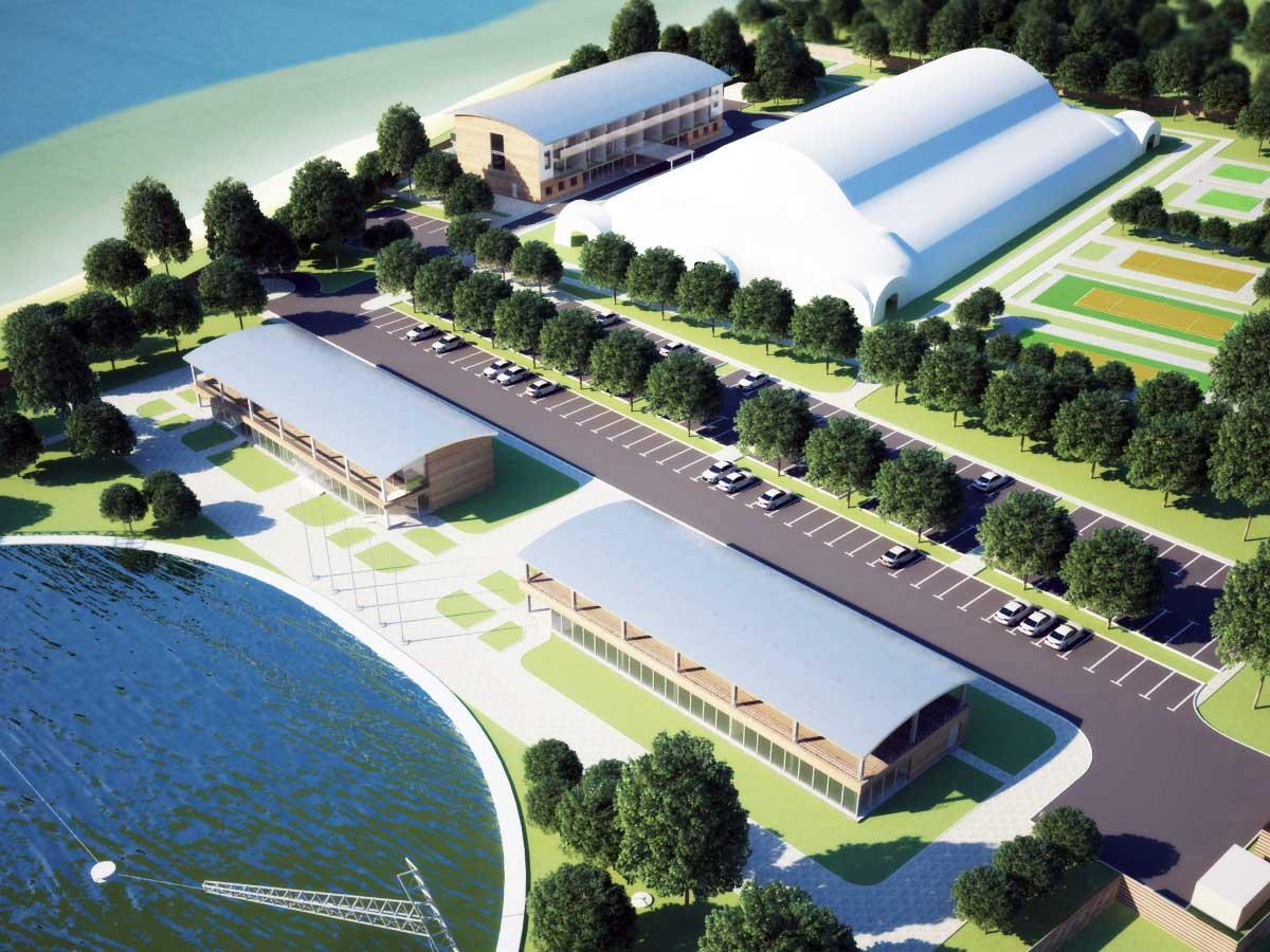 Эскизный проект спортивного комплекса Вейкпарк, Приморский р-н
