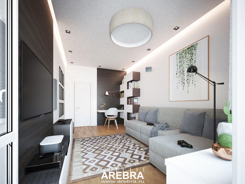 Дизайн проект квартиры СПб, ул.Стрельбищенская