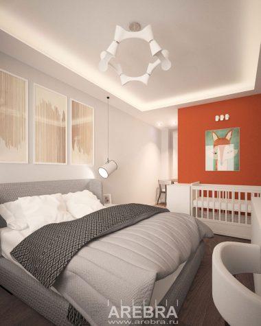 Дизайн проект квартиры СПб, Фермское шоссе 20
