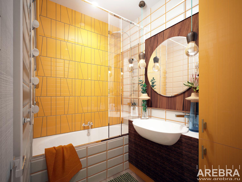 Дизайн проект интерьера квартиры Москва, ул. Новодмитровская улица, д. 2