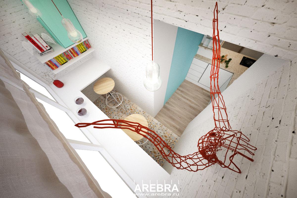 Дизайн проект квартиры в поселке Южный