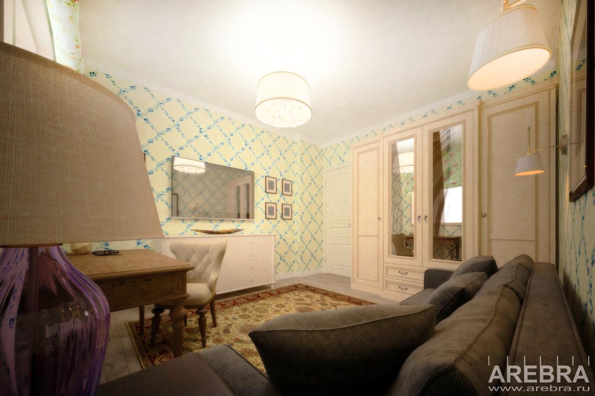 Дизайн проект интерьеров загородного дома в Сосново