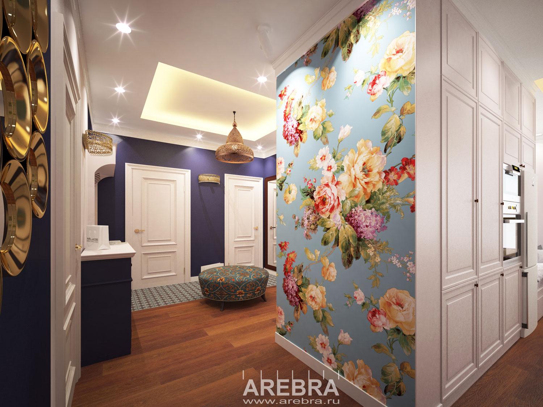 Дизайн проект квартиры Петергоф, ул. Парковая