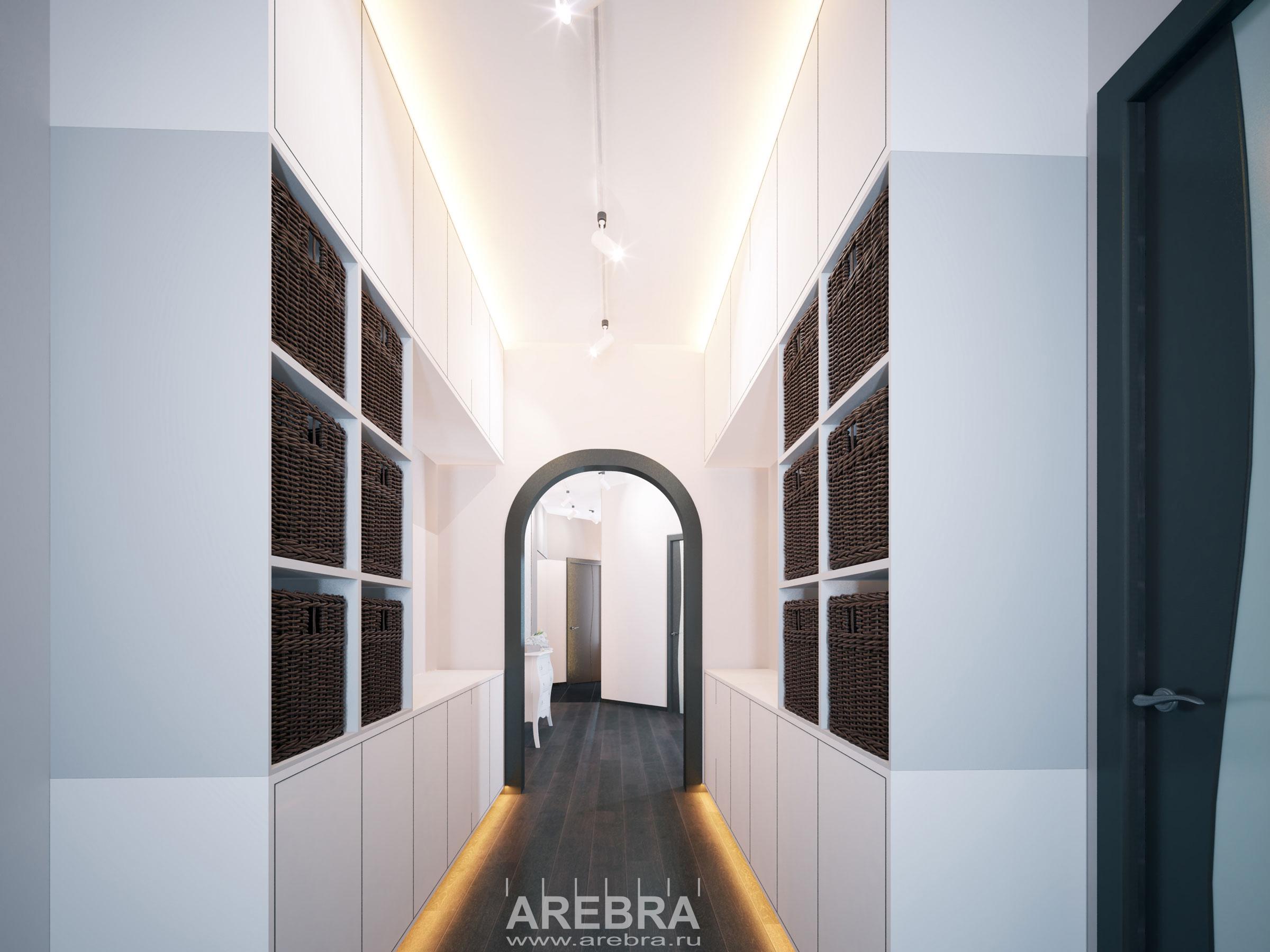 Дизайн проект квартиры пр.Культуры 19, СПб.