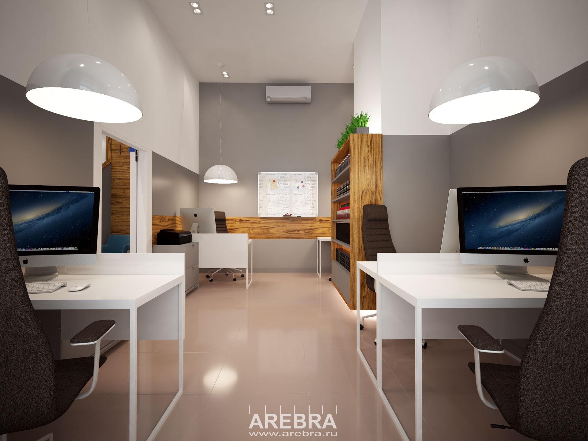 Дизайн проект интерьера офиса компании «Технологии Красоты» г.СПб, ул.Корпусная