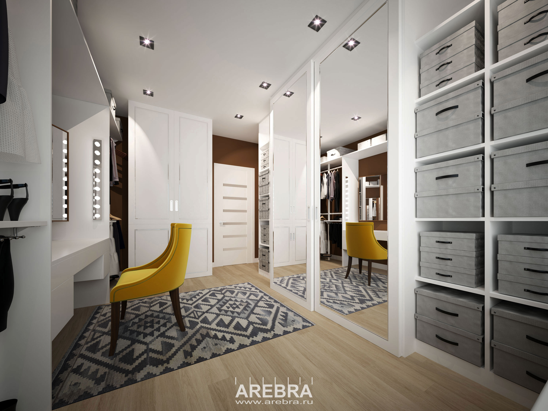 Дизайн проект интерьера квартиры в г.Сосновый Бор, площадью 84 кв.м.