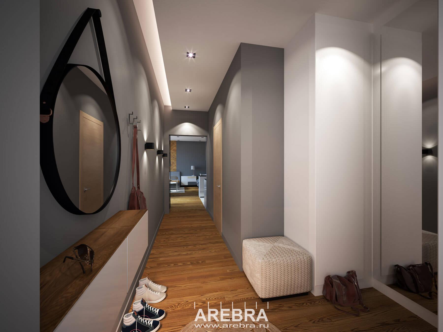 Дизайн проект интерьера квартиры ЖК ГОЛЛАНДИЯ