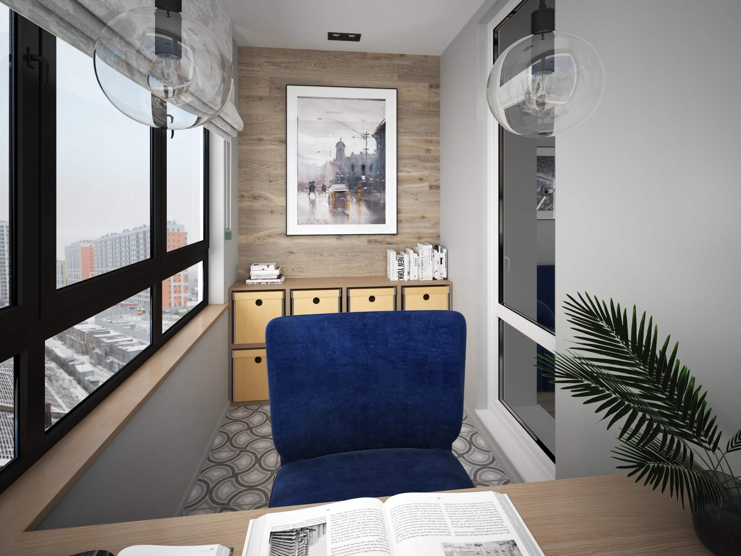 Дизайн проект интерьера квартиры в ЖК ГАЛАКТИКА (СПб)