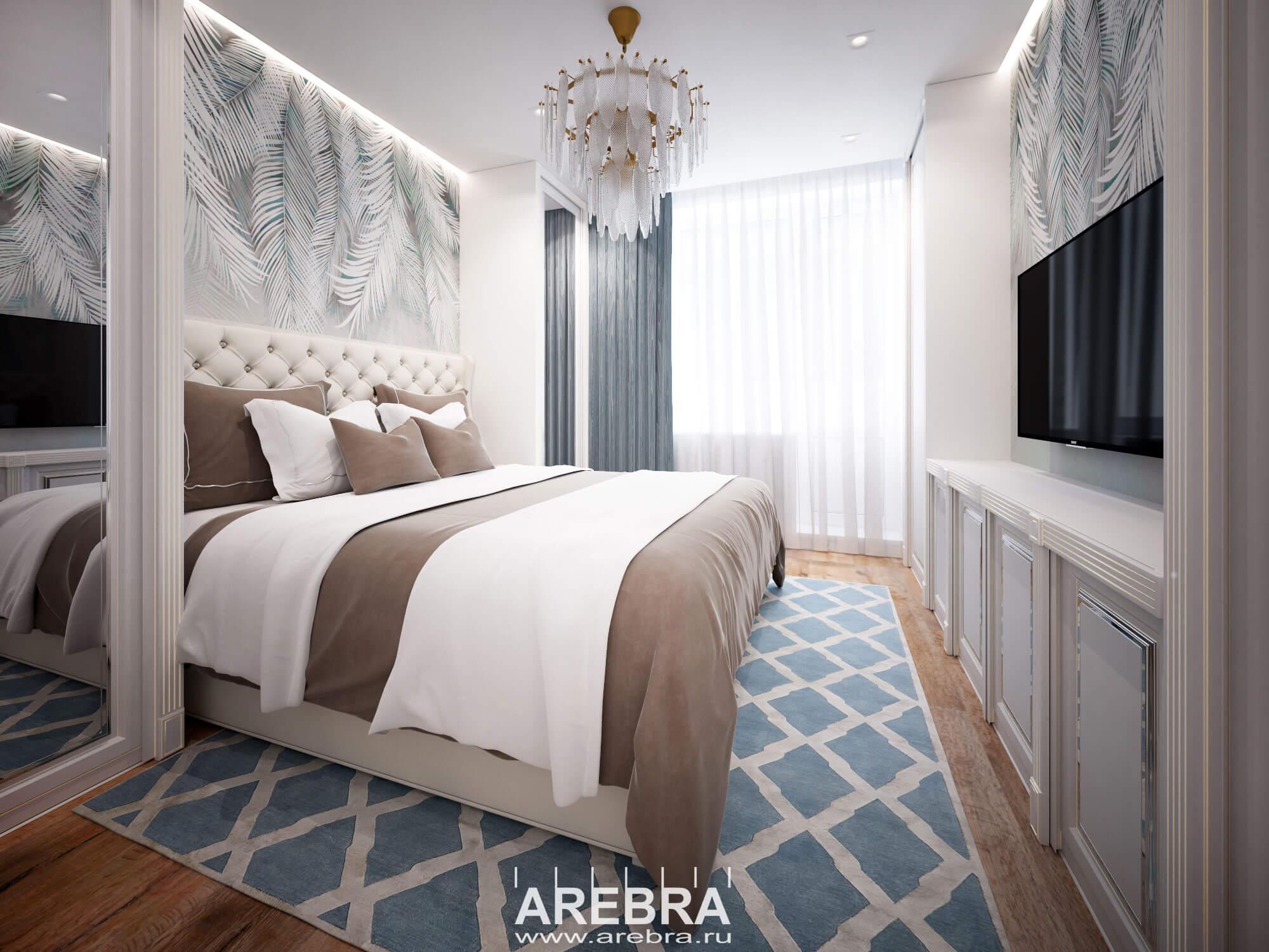 Дизайн проект интерьера квартиры по адресу г. Санкт-Петербург ул. Гжатская, д.22, корп.3